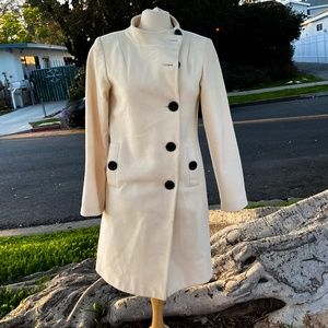Wool and Cashmere Sinequanone 60s looking Coat